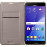 Husa Samsung EF-WA510PFEGWW tip carte aurie pentru Samsung Galaxy A5 (SM-A510) 2016 - Husa Telefon