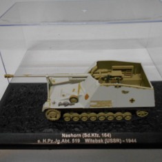 Macheta tanc Nashorn - Witebsk - 1944 scara 1:72 - Macheta auto