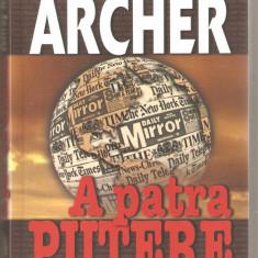 Jeffrey Archer-A patra putere - Carte de aventura