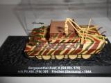 Macheta  tanc Bergepanther - Frechen - 1944 scara 1:72
