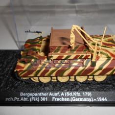 Macheta tanc Bergepanther - Frechen - 1944 scara 1:72 - Macheta auto