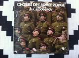 Boris Alexandrov Chœurs de L Armee Rouge disc vinyl lp muzica cor aramata rusa