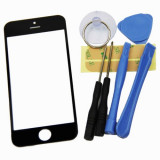 Sticla display Iphone 5 5G + set  scule, unelte  si folie adeziv