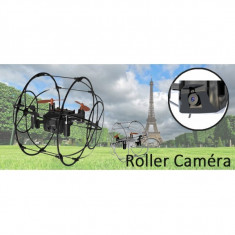 Mini drona cu telecomanda si camera Spy Roller