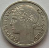 Moneda 1 Franc - FRANTA, anul 1958 *cod 596 Allu., Europa, Aluminiu
