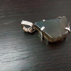 Pandantiv din ARGINT 925 cu agat dendrinic - Pandantiv argint