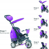 Tricicleta Smart Trike Splash Purple - Tricicleta copii