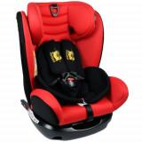 Scaun Auto cu Isofix Riola 0-36 kg Red - Scaun auto copii, 0-1-2 (0-25 kg)