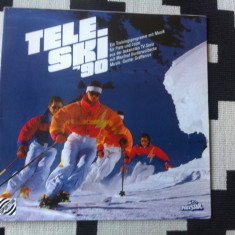 Tele ski 90 disc vinyl lp Trainingsprogramm mit Musik Moderation muzica pop - Muzica soundtrack, VINIL