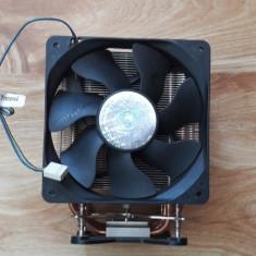 Vand Cooler CPU Cool Master 4 tevi groase cupru cooler 120mm la 100lei - Cooler PC Cooler Master, Pentru procesoare