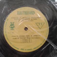 Disc Vinil Semnale si marsuri pionieresti pentru trompete si tobe, LP - Muzica pentru copii electrecord