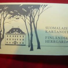 Carnet Prezentare a Seriei de timbre Arhitectura -1982 Finlanda, 10 val.