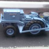 Macheta tractor Bauche 1957 - scara 1/43 - Macheta auto