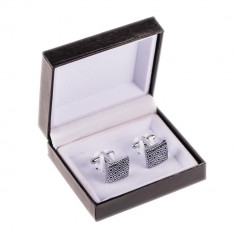 Butoni camasa online argintii