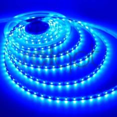 Banda LED rola 5 metri cu SMD 3528 lumina albastra 300 LED.uri 12V AL-TCT-2116