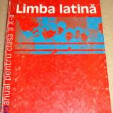 LIMBA LATINA - S. Pirvu / M. Duna - clasa a X a - Manual scolar humanitas, Clasa 10, Limbi straine