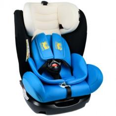 Scaun Auto cu Isofix Mandara 0-36 kg Blue - Scaun auto copii, 0-1-2 (0-25 kg)