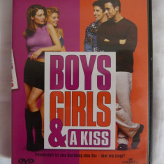 Boys, Girls and Kiss - dvd - Film comedie Altele, Altele