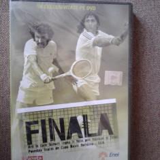 DVD Film - Finala-Cupa Davis Romania-SUA, Nastase si Tiriac Sigil original!!! - Film Colectie productii romanesti, Altele