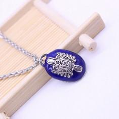 Colier/Medalion - Vampire Diaries - Damon Salvatore - Nou/Tiplă - Pandantiv fashion