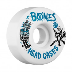 Set 4 roti skateboard Bones STF Head Case 52mm