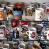 colecţie de căni adunate de pe 5 continente