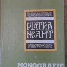 Piatra Neamt Monografie - Vasile Gherasim, Ionel Marin, 394998 - Carte Geografie