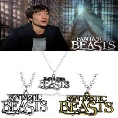 Medalion/Lantic - Fantastic Beasts/Harry Potter - Sigilat - Pandantiv fashion