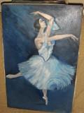 Tablou-Balerina dansând-Thomas Alexis, Portrete, Ulei, Realism