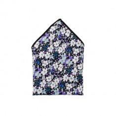 Batista costum bleumarin flori - Batista Barbati