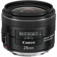 Obiectiv Canon EF 28MM 2.8 IS USM - Obiectiv DSLR