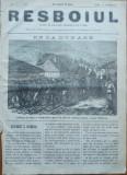Ziarul Resboiul , nr. 115 , 1877 , gravura ; Divizia a 4 - a Romana de Vanatori