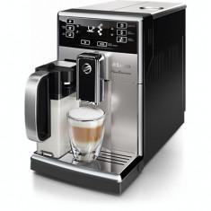 Espressor Super Automat Saeco PicoBaristo Philips HD8927/09, 11 bauturi, AquaClean, Otel inoxidabil, 1.8 L