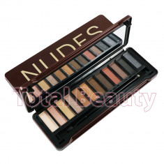 Trusa Farduri 12 culori Eyeshadow NUDES Finish Week #03 - Trusa make up