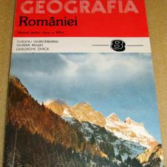 GEOGRAFIA ROMANIEI - manual clasa a VIII a - 1998 - Manual scolar Altele, Clasa 8, Geografie