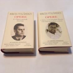 MIRCEA VULCANESCU.OPERE 2 VOL - Filosofie