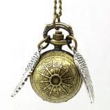 Ceas - Golden Snitch / Harry Potter - Nou/Țiplă - Pandantiv fashion