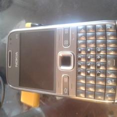 Nokia E72 - Telefon mobil Nokia E72, Argintiu, Neblocat