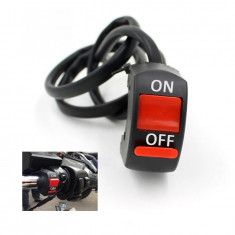 Comutator / Intrerupator ghidon Moto - lumini, lumini avarie - Intrerupator Moto