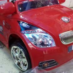 Masina mare electrica cu telecomanda si acumulator 6v roz/rosu/albatru - Masinuta electrica copii