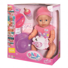 Baby Born Papusa Interactiva - Fetita
