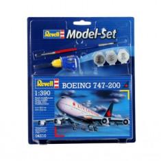 Model Set Boeing 747-200 - Macheta Aeromodel Revell