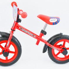 Bicicleta fara pedale pentru copii intre 3-5 ani - cadru si furca metalice -Noua, 10, 1