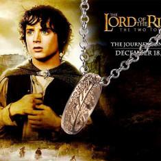 Medalion/Inel/Lantic - Lord of the Rings/The Hobbit/Stapanul Inelelor - Auriu - Pandantiv fashion