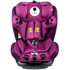 Scaun Auto cu Isofix Mos Martin 0-36 kg Purple - Scaun auto copii, 0-1-2 (0-25 kg)