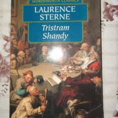 Laurence Sterne - Tristram Shandy ( carte in lb.engleza ) 457pagini - Carte in engleza