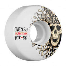 Set 4 roti skateboard Bones STF Pro Berger Medusa 52mm