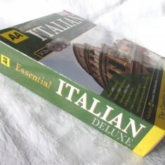 """AA Essential ITALIAN DELUXE. AA Essential Italian Phrase book + 3 CD"". Noua"