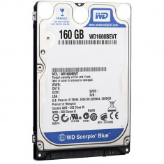 Hard disk laptop 160GB 2,5 SATA refurbished, ca NOU, 0 ore