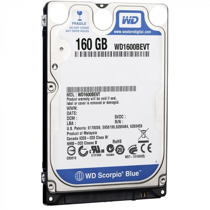 "Hard disk laptop 160GB 2,5"" SATA refurbished, ca NOU, 0 ore foto mare"